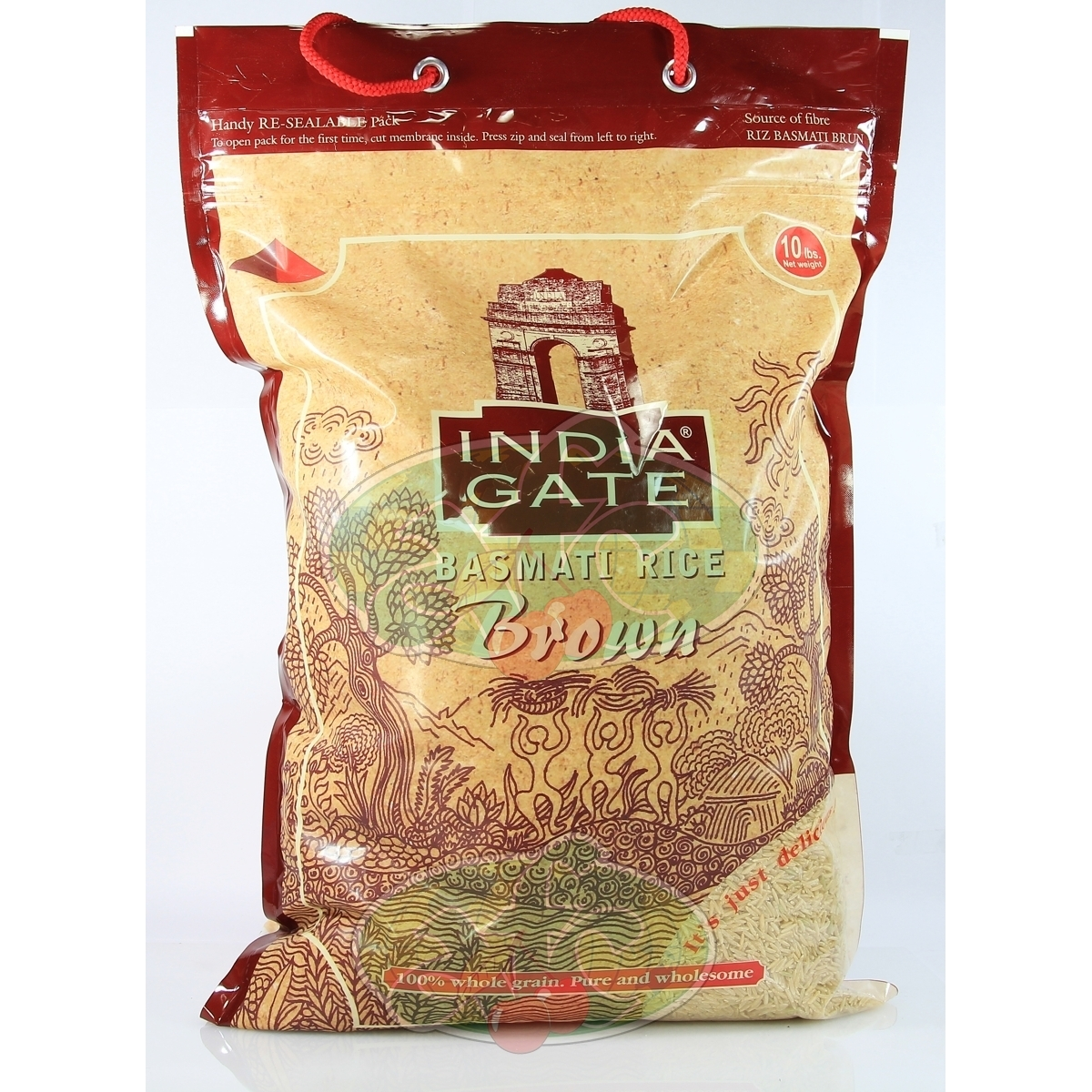 India Gate Basmati Rice Brown India Gate Basmati Rice